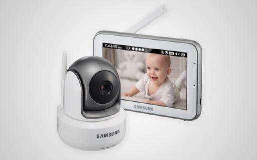 三星新款嬰兒監視器,雙向交流讓寶媽更放心