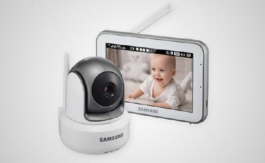 三星新款婴儿监视器,双向交流让宝妈更放心