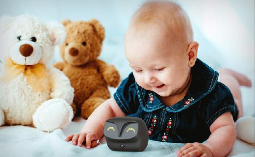 貓頭鷹嬰兒監視儀,寶寶一哭就報告,還能定時拍照
