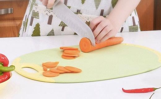 谷的家环保菜板:玉米提取PLA材质,呵护全家健康