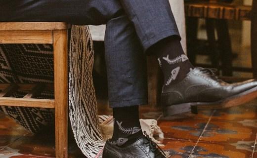 zaferwalk襪子:精致獨立盒裝,超薄透氣有彈力