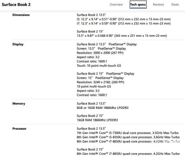 例行升级:微软上架中配版SurfaceBook2