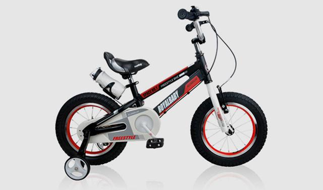 优贝太?#25214;?#21495;儿童自行车首发试用