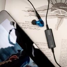高端耳机的无线解决方案:宜丽客HPC1000RC蓝?#34013;?#26426;线