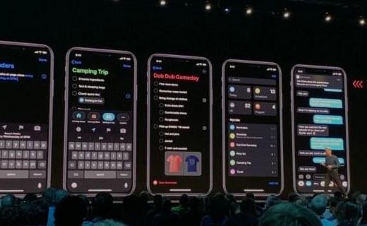 「新东西」iOS 13发布:新增黑暗模式,账号登入统一管理