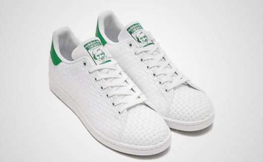 adidas小白鞋出新款,编织鞋面透气性更佳