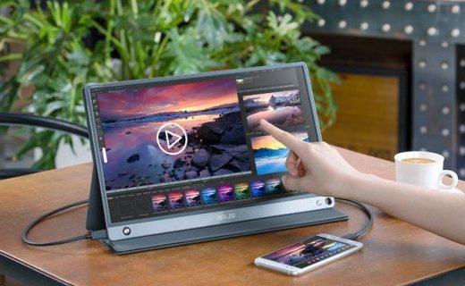 「新东西」华硕发布新款便携式显示器,240Hz刷新率+3小时续航