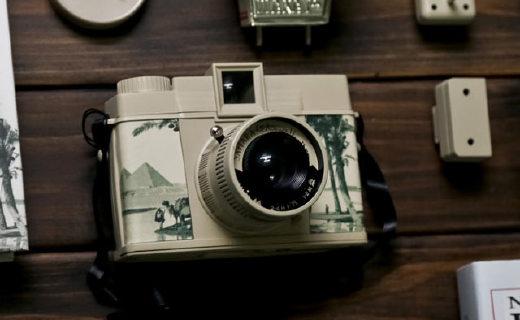 乐魔Diana F胶片照相机:撒哈拉沙漠限量版,?#23576;?#25293;摄多模式
