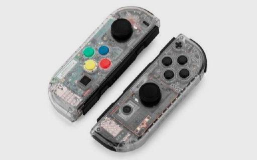 Nintendo Switch发透明壳体,和那些妖艳贱货不一样