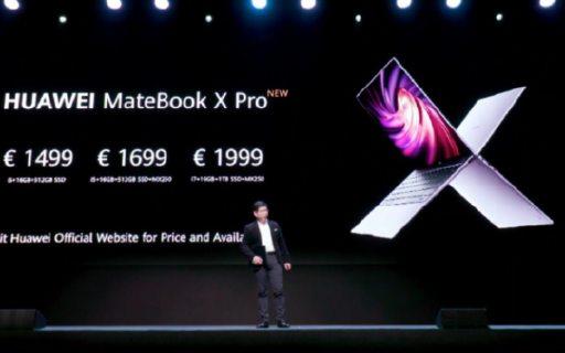 全面屏无边框!3K分辨率搭配黄金生产力屏幕,MateBook X Pro 2020款发布售价11417元
