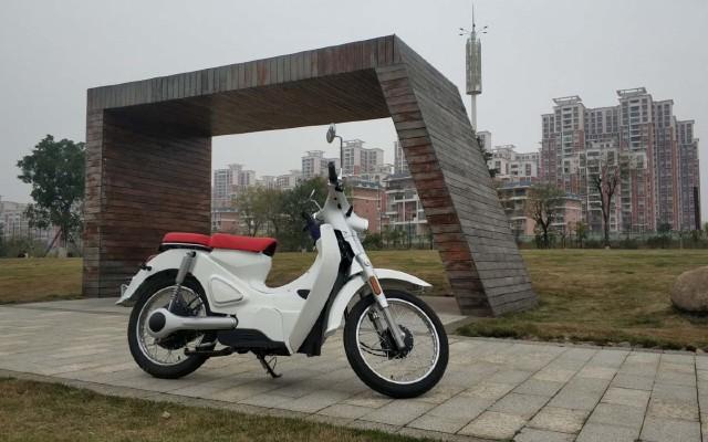 我们的小城故事——宗申森蓝B1电动摩托车