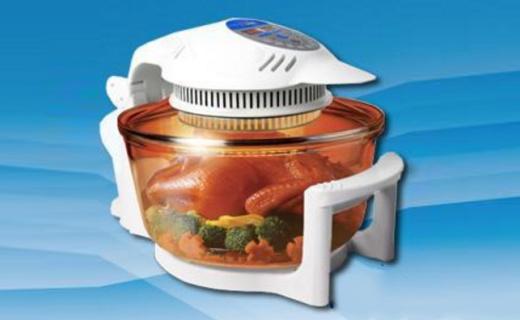 德國寶CKY-688F空氣炸鍋:玻璃鍋體烹飪可見,三重加熱無油健康