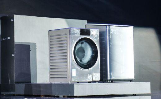 松下发布Alpha洗衣机系列,保时捷联合设计定位高端