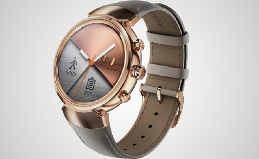 華碩首款圓形手表,運動檢測精度達95%