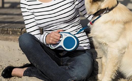 FlexiExplore伸縮寵物繩:單手回收,幫你輕松控制愛犬