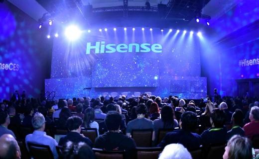 海信發布150英寸激光電視,雙面屏手機亮相