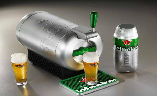 KRUPS啤酒冷藏机:让你在家也能喝到2℃新鲜生啤,冰爽沁透心脾