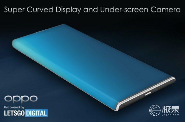 OPPOFindX3Pro渲染图曝光,超大曲面屏幕,或使用屏下摄像头