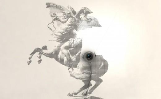 能在垂直墙面绘画的机器人问世,神笔马良或成真