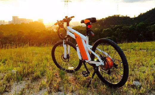 RBIKE 电动自行车:德国设计,多种骑行模式出行更便捷