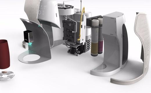 設計貼心的智能凈水機,可為家人定制喝水計劃!