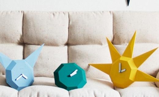 BOZU兩用寶石鐘:全身無螺絲設計,百變造型任你打造