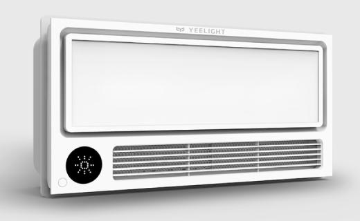 风量大升温快,小米生态链发布Yeelight 智能风暖浴霸