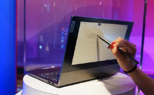 「CES 2020」電腦里外都是屏,能寫能畫還能收發郵件,這下職場人的效率也能提高一大截