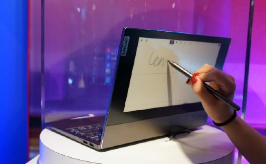 「CES 2020」电脑里外都是屏,能写能画还能收发邮件,这下职场人的效率也能提高一大截
