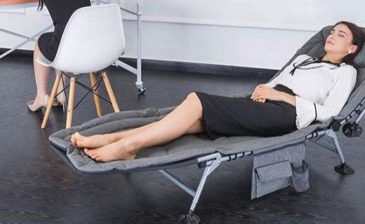 泰普森可調節折疊床:五檔可調節靠背,享受愜意的午休時刻