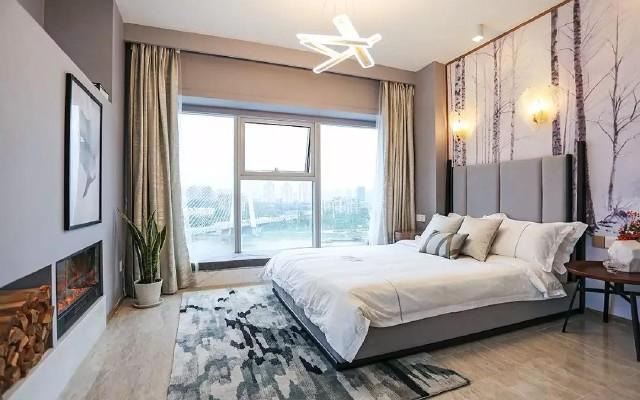 80㎡公寓改造出别墅感,看完我也想要这种风格的小窝
