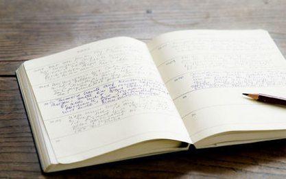 灯塔日记本:无酸纸防洇墨专利技术,365页纸张独特设计