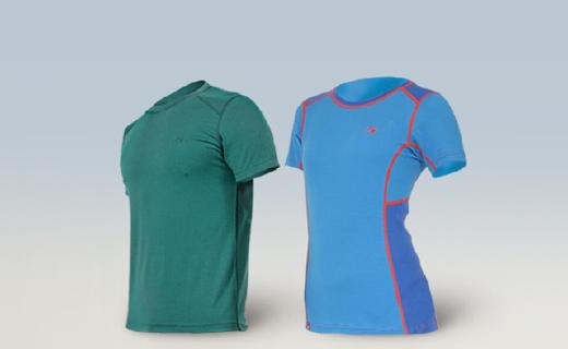 這款羊毛跑步T恤柔軟保暖,還能快速排汗!