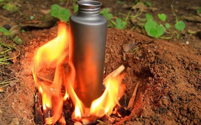 能烧水运动水杯,钛金属材质户外饮水更放心 — 火枫户外钛水杯体验