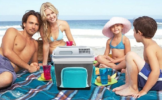 美固S25車載冷熱箱:24L大容量,保冷保暖一年四季都能用