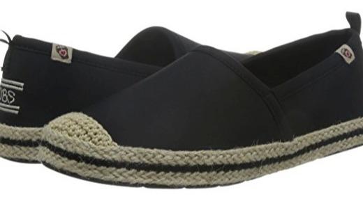 斯凱奇BOBS系列休閑鞋:彈力布料舒適貼腳,一腳蹬設計穿脫方便