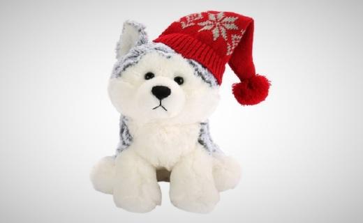 GundFlurry毛绒玩具:优质毛绒柔软舒适,针织帽萌态十足
