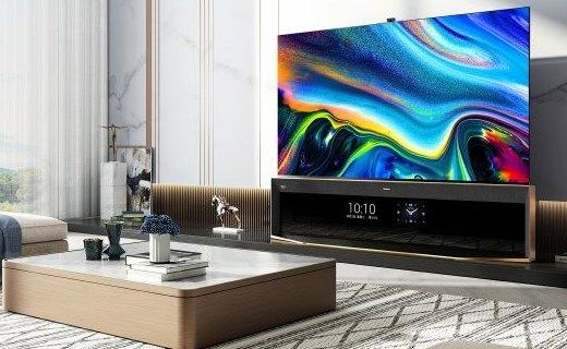 电视老大重新定义8K电视,海信发布全球首款8K Pro双屏电视