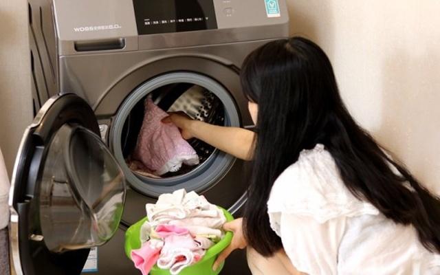 云米洗烘一体洗衣机体验,?#22791;?#20877;也不抱怨衣服难洗
