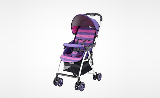 Aprica嬰兒推車:單手收放輕松自如,帶娃出行無負擔