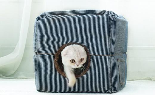 网易严选方形封闭式宠物窝:360°拥抱猫咪,耐抓耐磨又保暖