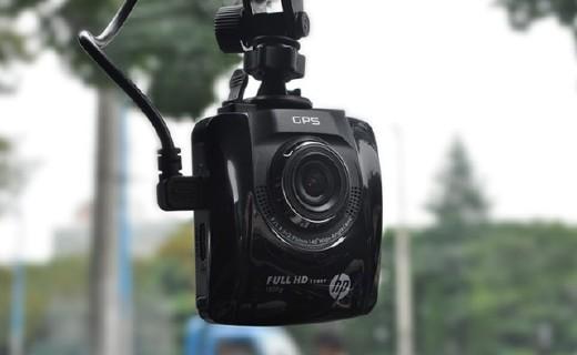 惠普F515行車記錄儀:高清傳感器夜間依舊清晰,大廣角視野廣闊