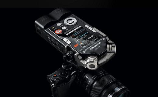 奧林巴斯LS100錄音筆:8音軌錄制編輯,多場景錄音模式