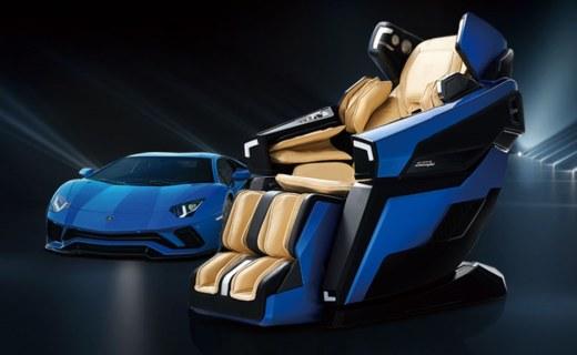 蘭博基尼聯名按摩椅!外形酷炫活兒也全,還有跑車模式?