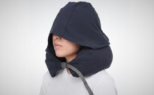 無印良品靠枕:舒適面料柔軟貼心,自帶帽子隔絕光線