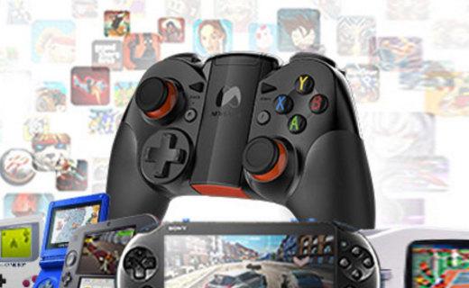 NGDS N1 Pro游戲手柄:藍牙連接支持多設備,適配主流游戲