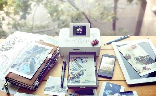 佳能CP910相片打印机:小巧易携带,热升华打印色彩鲜艳