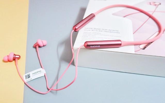 1MORE Stylish双动圈颈挂式蓝牙耳机,让生活更动听