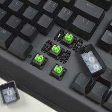性價比?售價449的綠軸鍵盤:雷蛇黑寡婦蜘蛛X競技版開箱