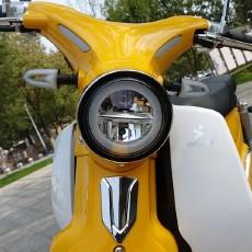 倡导绿色环保骑行,森蓝新能源摩托车B1蓝调体验
